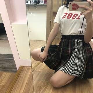 🚚 zara拼接格子裙 #半價衣服市集