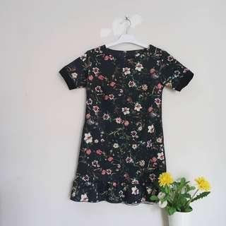 NO NEGO Scuba Flower Dress