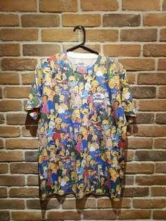 The Simpsons Printed Tee