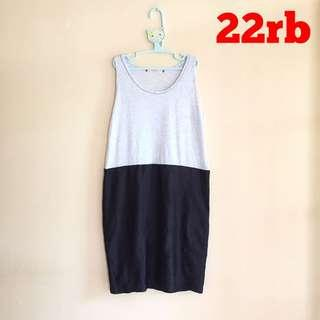SALE! DRESS GREY BLACK