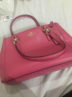COACH mini christie carryall - Dahlia handbag original