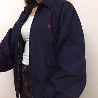 Vintage Polo Ralph Lauren Harrington Jacket Navy 古著 復古 外套