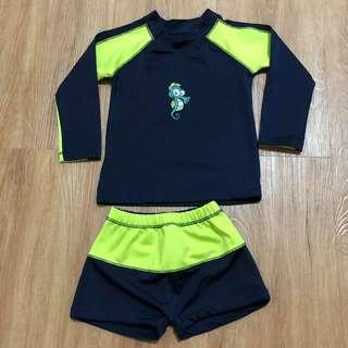 Rash Guard Set for Toddler