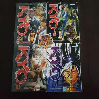 KYO Samurai Deeper Vol 3,4,10&22