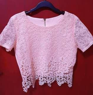 Atasan Brokat (Lace Top)
