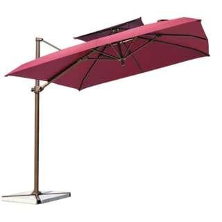 Outdoor Cantilever Garden Umbrella Circle or Square 2.5M - buyer posting