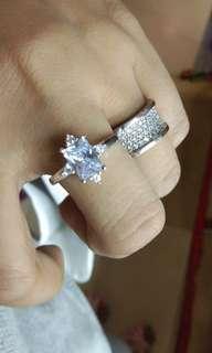 Cincin diamond replika