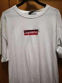 Too broke for supreme t-shirt