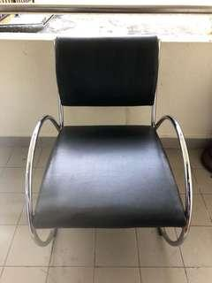 🚚 Leather Comfy Reclining Chair