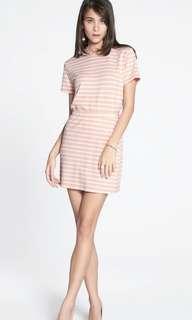 🚚 Striped A-line mini skirt
