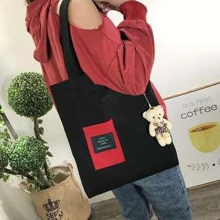 🚚 Ullzang tote bag 2 way bag