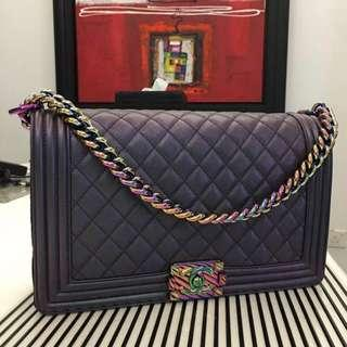 626043f75c3a chanel boy new medium rainbow | Luxury | Carousell Singapore