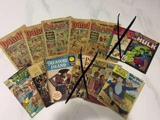 Vintage/classic comics