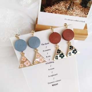 🚚 Kr Flora Earrings