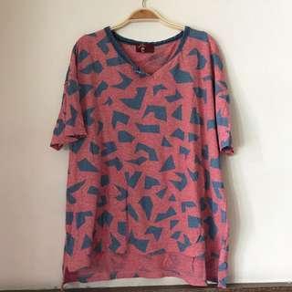 🚚 方塊棉質短T#半價衣服市集