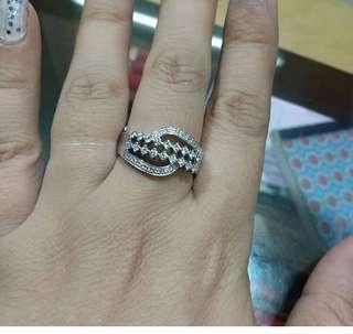 Sale cincin eropa, ikat mas putih kadar mas 60%