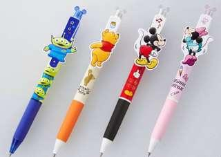 🚚 Uni Japan Disney Winnie / mickey / minnie / alien frixion pen