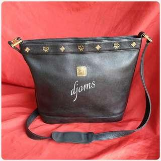 🛑Vintage MCM Nature Bucket Shoulder Sling Body Bag