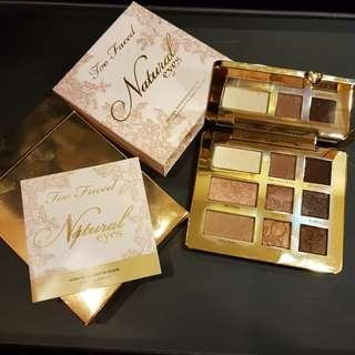 Like New Too Faced Natural Eyes eyeshadow palette