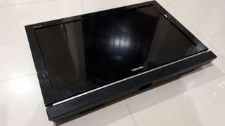 Jual TV LED Toshiba REGZA 32PB10E 32inc Rusak Nyala tapi tidak nampil