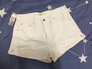 🚚 🤟Amber-全新-TANK'S高腰牛仔短褲