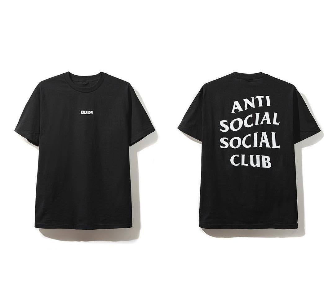 116ea4fc75eb Anti Social Social Club Tee l Black
