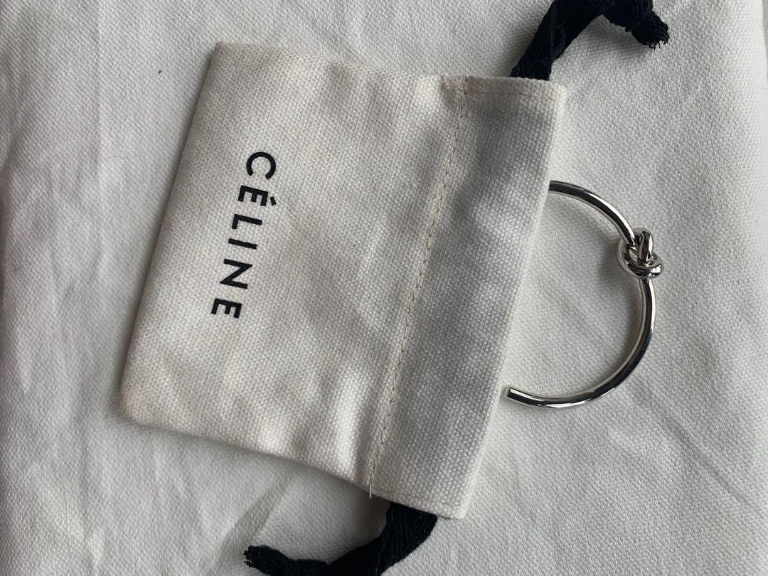 Authentic Celine Knot Bangle