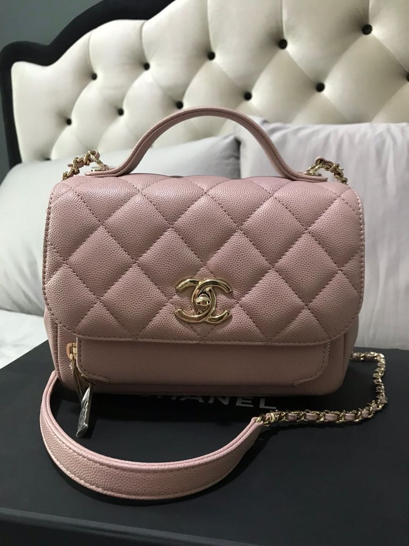 7d1d60029 BNIB Chanel Business Affinity Flap Bag with top handle, Luxury, Bags ...