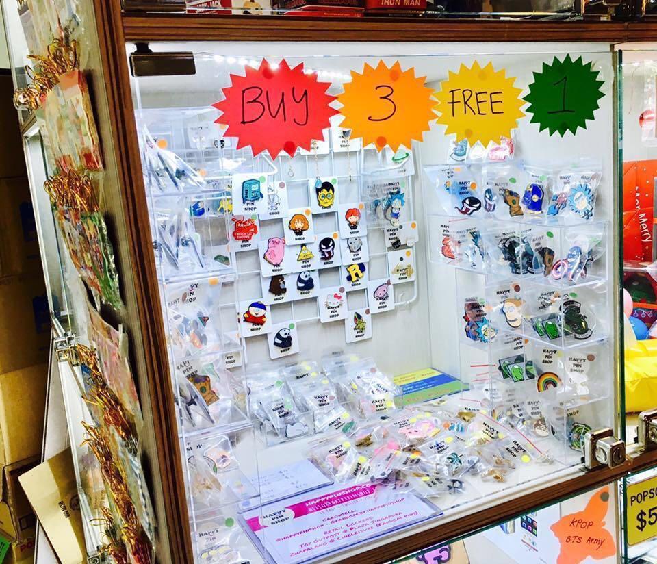 Buy 3 Get 1 Free Enamel Pin at Zhapalang @ Cineleisure, #02