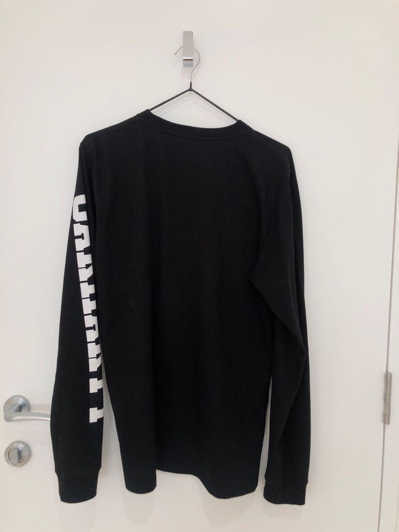 CARHARTT long sleeve black shirt