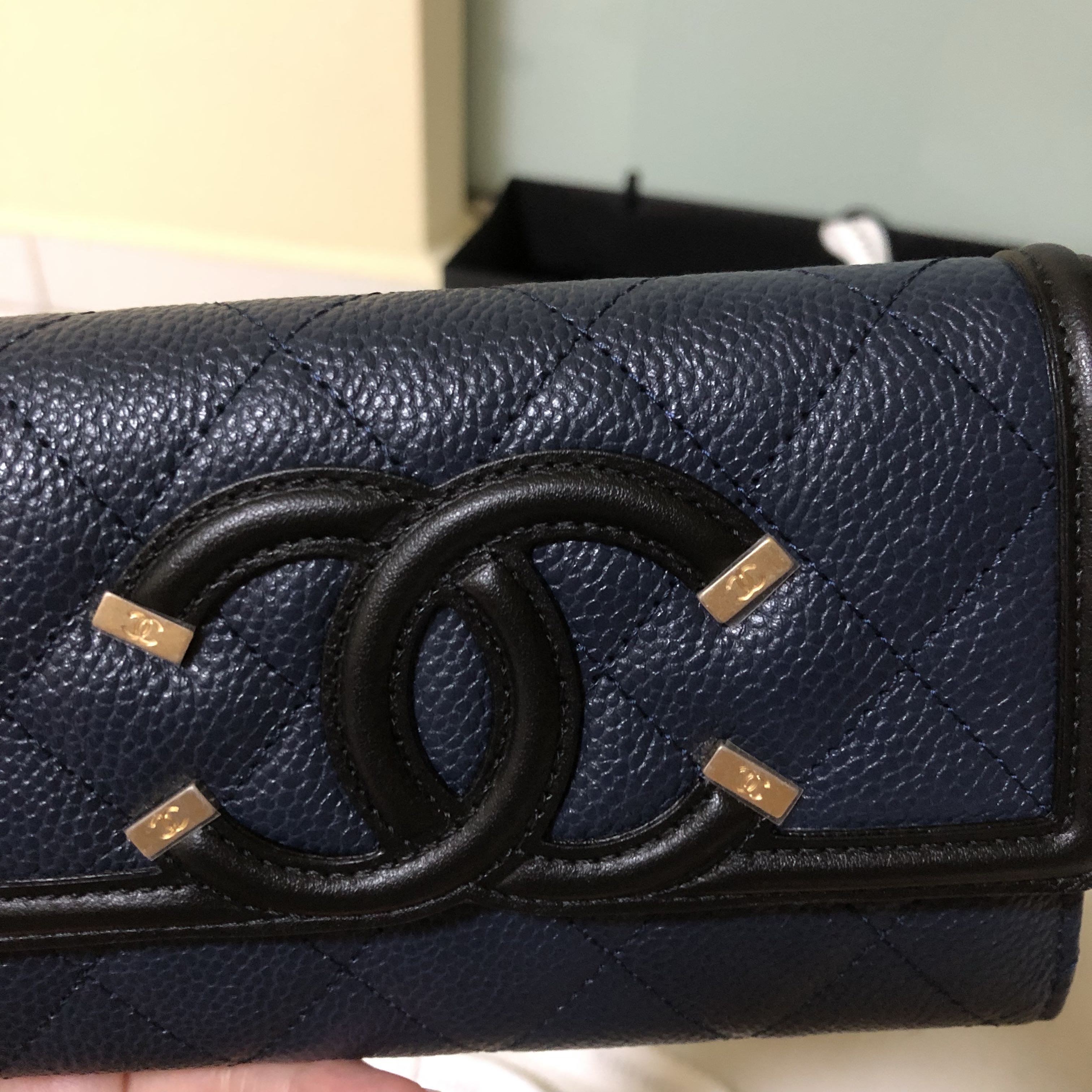 1a273fcdba65 Chanel Vanity Medium wallet - 2 tone. Rare, Luxury, Bags & Wallets ...