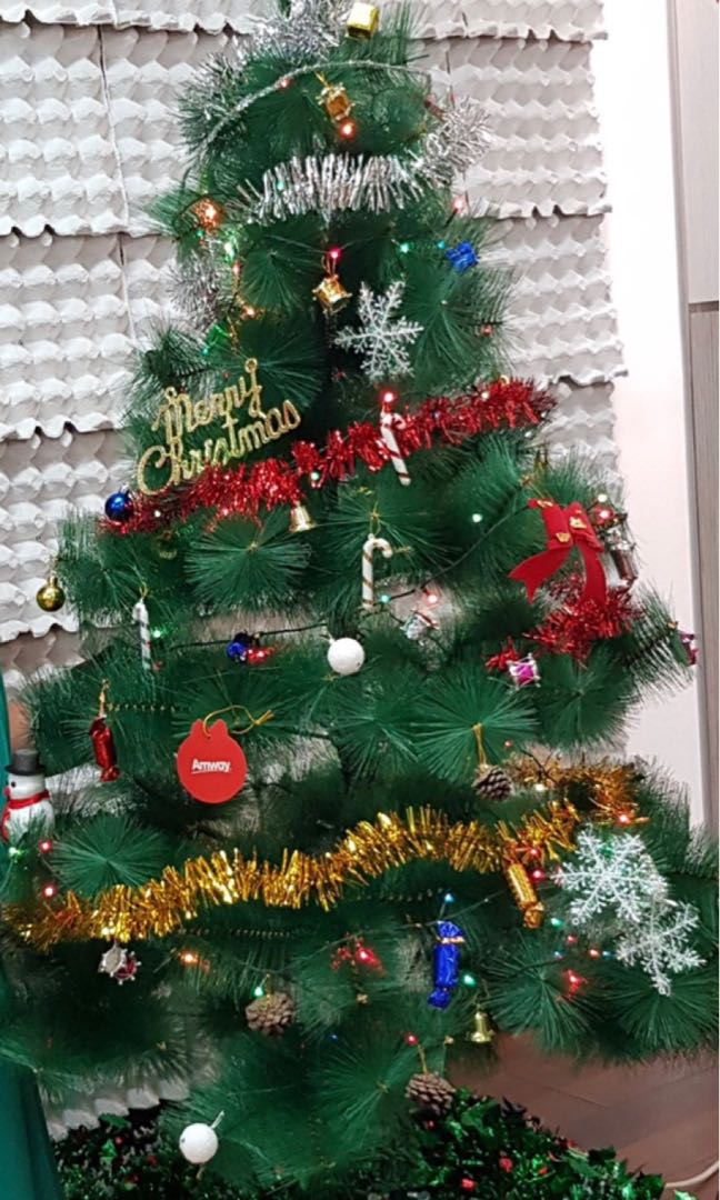 Christmas Tree Bundle Furniture Home Decor Others On Carousell