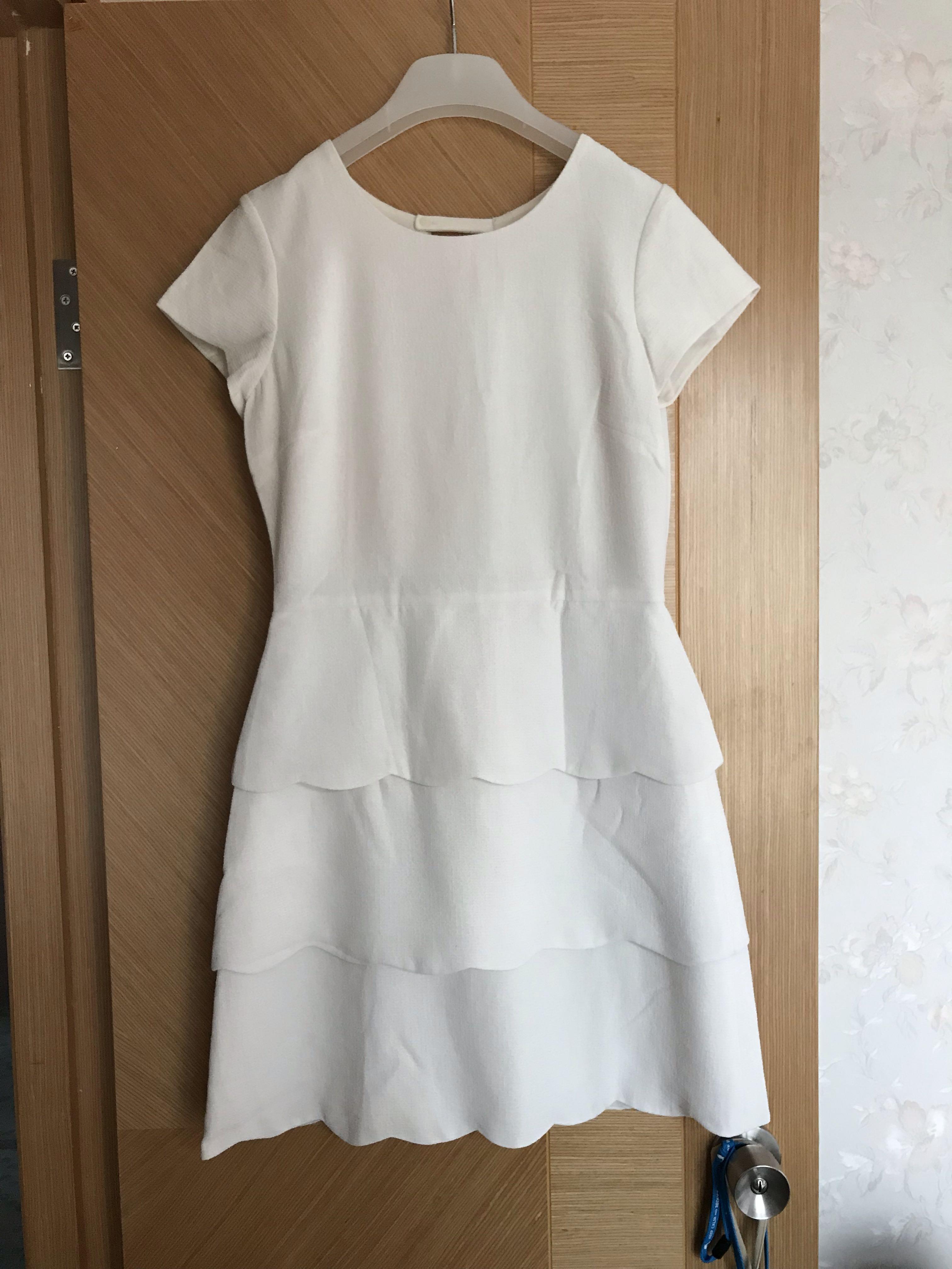 club monaco Dress白色連身裙