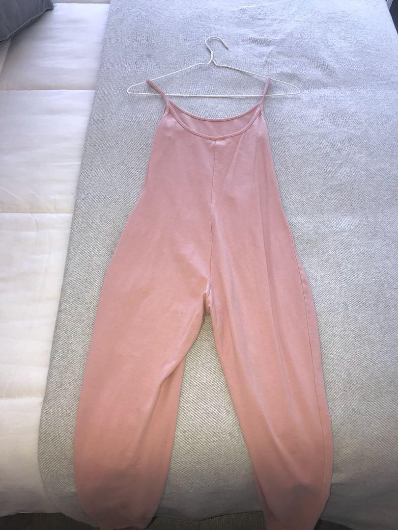 FASHION NOVA Pink Jumpsuit