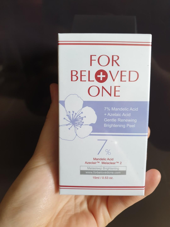 For Beloved One: 7% Mandelic acid renewing peel serum