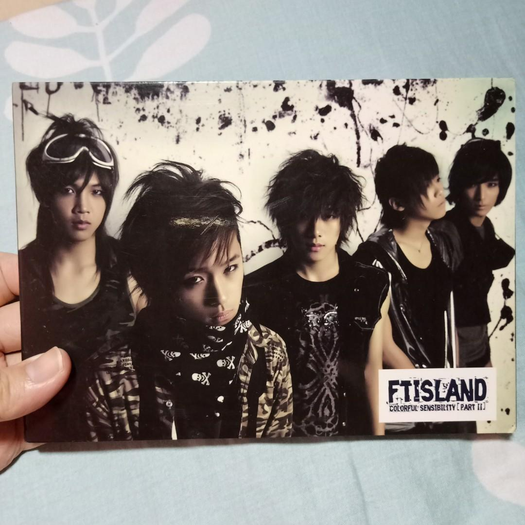 FT.Island Colorful Sensibility [Part II] Taiwan Limited Edition