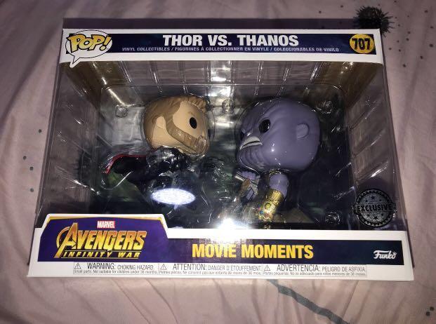 Avengers Movie Moments Thor vs Thanos Marvel 707 NEW !!! Funko POP