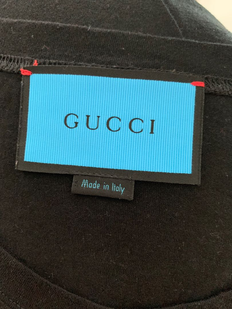 39a414fb3 Gucci Ghost Tee, Men's Fashion, Clothes, Tops on Carousell