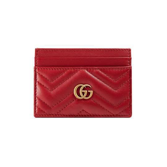 ba39a577c Gucci Marmont Card Case (Authentic), Luxury, Bags & Wallets, Others ...