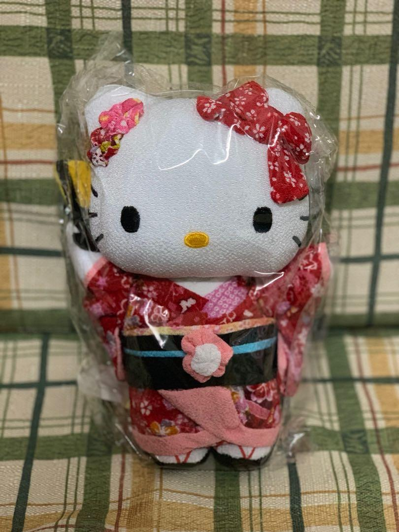 Hello Kitty 公仔 (2012 年日本和服裝)