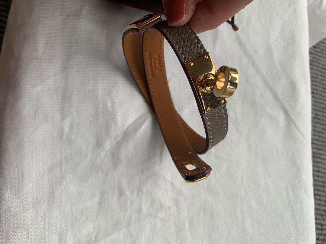 Hermes Double Tour Kelly Bracelet
