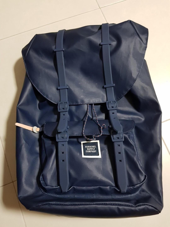ca30b08cdea Herschel Supply Co. Little America Studio poly coat backpack Full ...