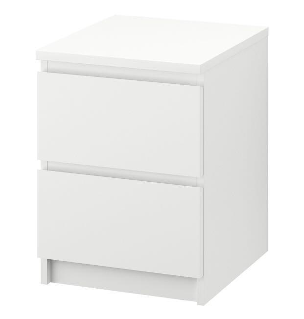 IKEA - MALM - 2-drawer chest