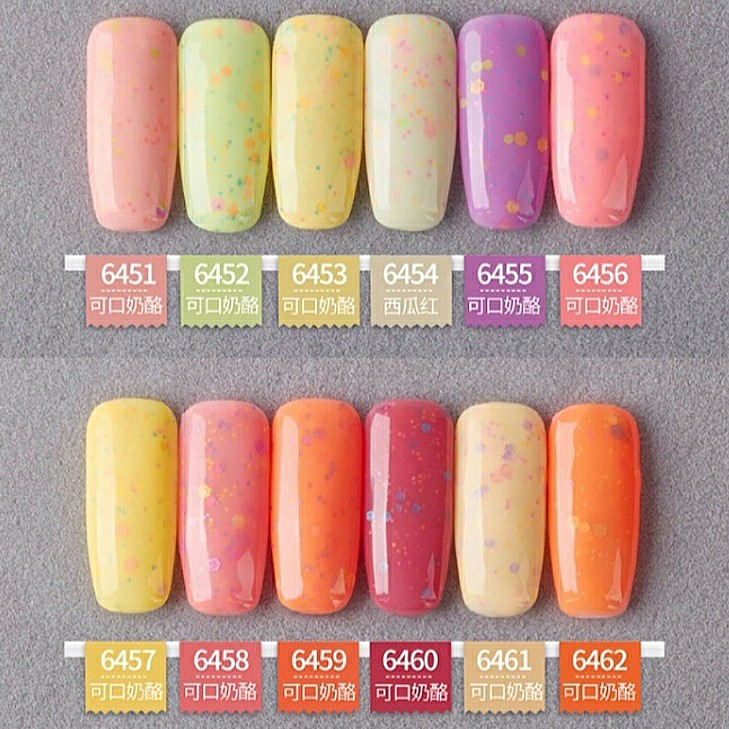 9a3d8e3f146dff INSTOCK Cheesy Candy Series Gel Polish X36 Colors, Health & Beauty ...