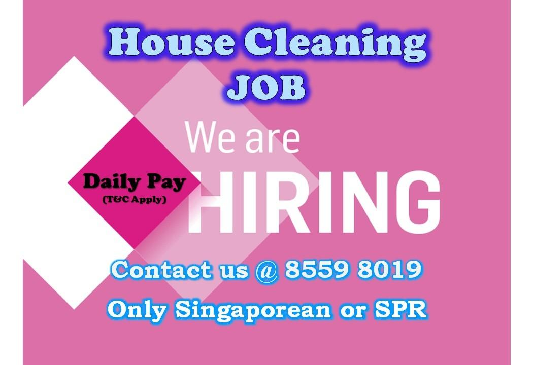 JOB: House Cleaning Helper