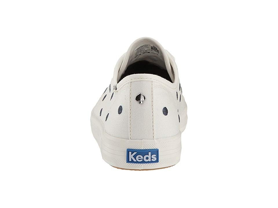 0ae28f96f99 Keds x Kate Spade New York Kickstart - Cream Navy Dancing Dot ...