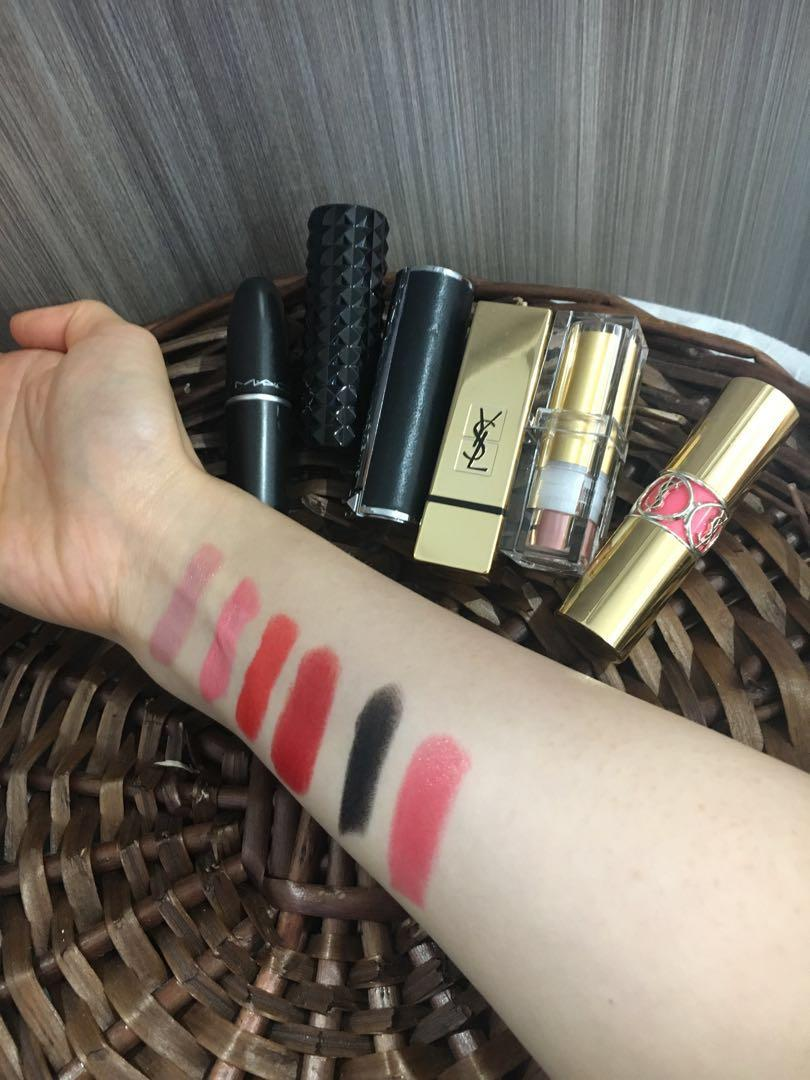 Luxury Brand Lipsticks + Lip Stains  ! YSL/MAC/Givenchy! Urgent Sale!
