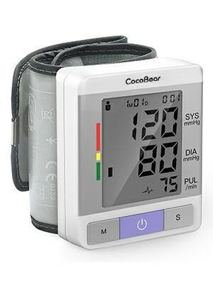 M40) CocoBear Wrist Blood Pressure Monitor, Digital