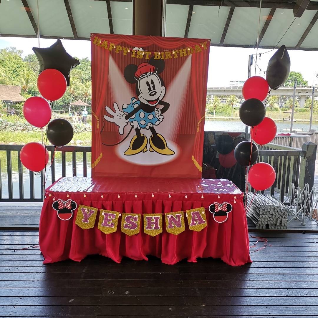 Mickey Mouse Theme Party Decoration For Rent From $63 80
