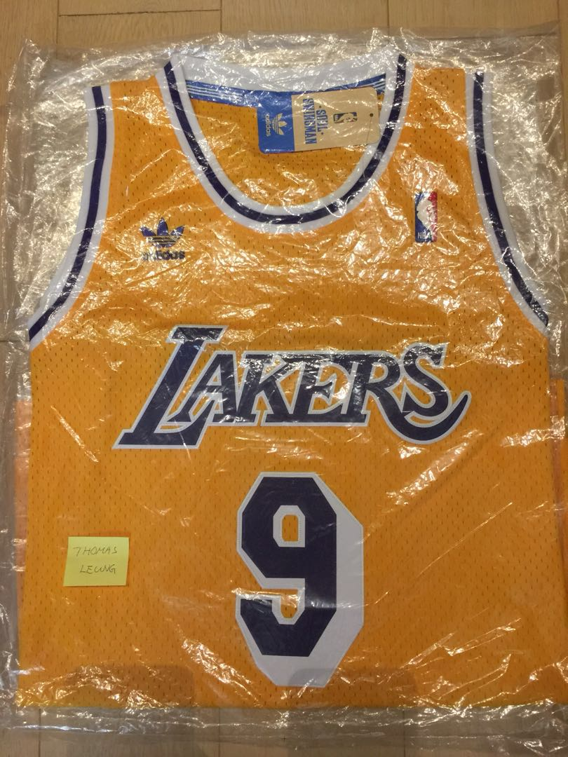 d9b88f247 Nick Van Exel Lakers Adidas HWC swingman